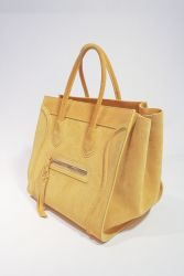 A leather bag from Milan. Sept. 16, 2013